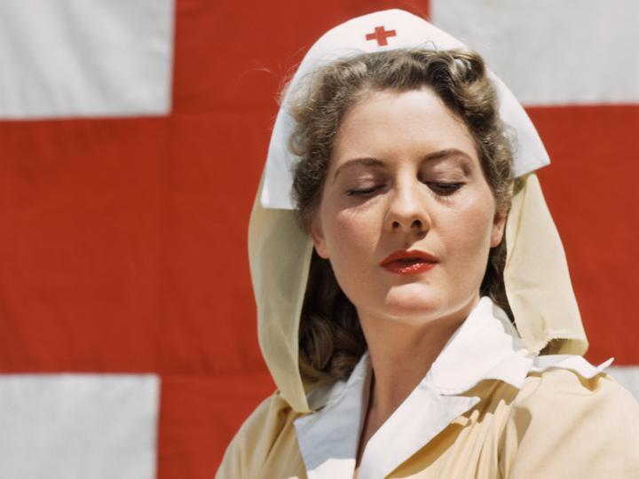Croix Rouge Femme Guerre 1914 1918