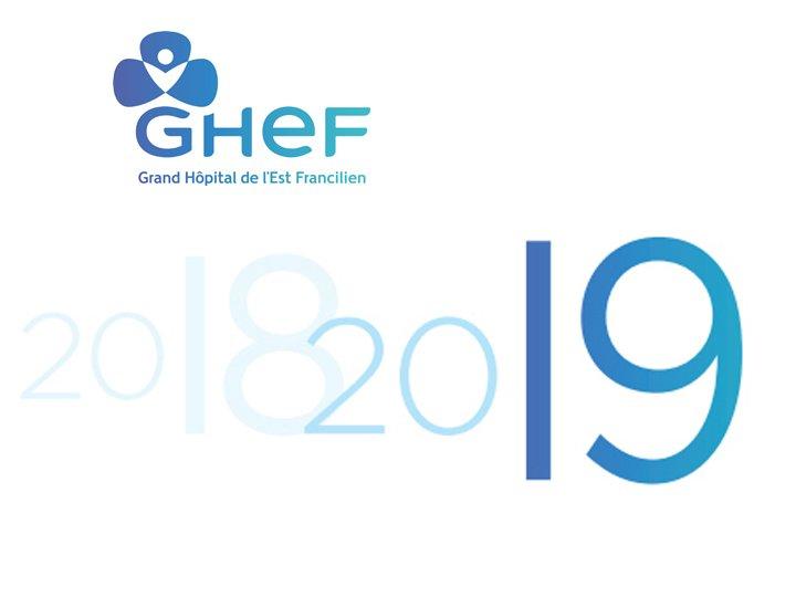 Voeux GHEF 2019 Hôpital Seine et Marne Grand Hôpital de l'Est Francilien