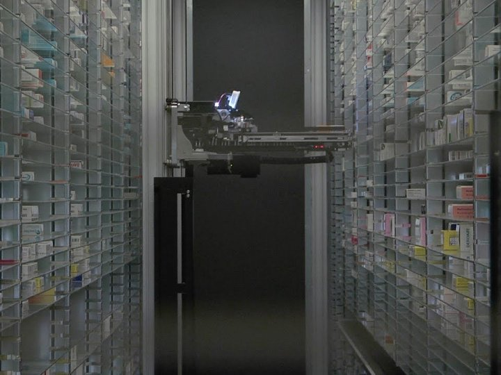 pharmacie robot ghef