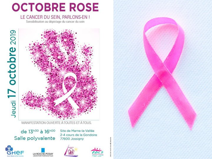 OCTOBRE ROSE GHEF cancer sein